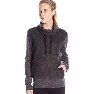 Alo Yoga Rift Long Sleeve in Charcoal Heather